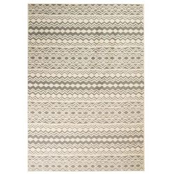 Nowoczesny dywan we wzór tradycyjny, 120x170 cm, beżowo-szary marki Vidaxl