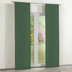 Dekoria zasłony panelowe 2 szt., forest green (zielony), 60 x 260 cm, cotton panama