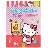 Maľovanka s 80 samolepkami (Hello Kitty) autor neuvedený (4007148027322)
