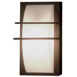 Elewacyjna LAMPA ścienna SVEN 2W Elstead zewnętrzna OPRAWA ogrodowa KINKIET na taras outdoor IP65 biały grafitowy, SVEN 2W