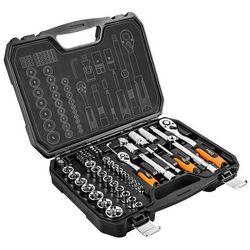 Zestaw kluczy nasadowych i bitów NEO 08-673 1/2 1/4 cala (73 elementów)