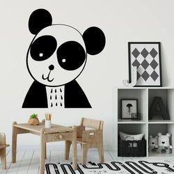 Naklejka na ścianę dla dzieci panda 2492