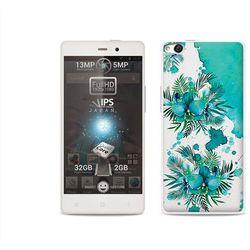 Fantastic Case - Allview X1 Soul - etui na telefon Fantastic Case - turkusowa orchidea (Futerał telefoniczny)