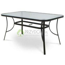 Stół ogrodowy szklany HOLIDAY 150 cm
