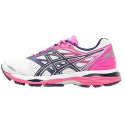 ASICS GELCUMULUS 18 Obuwie do biegania treningowe white/indigo blue/hot pink (8718833817178)