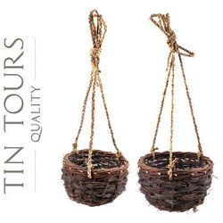 Tin tours sp.z o.o. Komplet dwóch zwisów na kwiaty śr.32cm i śr.25cm