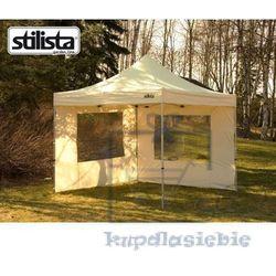 Zestaw 2 ścian bocznych dla namiotu ogrodowego 3 x 3 m kolor champagne marki Stilista