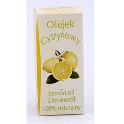 Olejek zapachowy naturalny Cytryna 7 ml (olejek eteryczny)