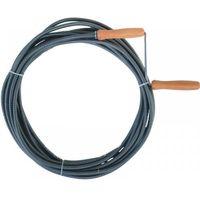 Spirala hydrauliczna DEDRA 12H605 do udrażniania rur kanalizacyjnych (500 cm)