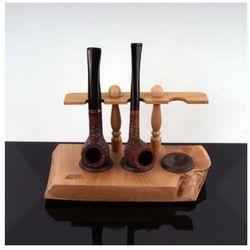 Stojak drewniany na 3 fajki od producenta Mr bróg