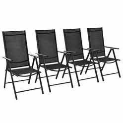 Komplet krzeseł ogrodowych Safari 4 szt., vidaxl_41731