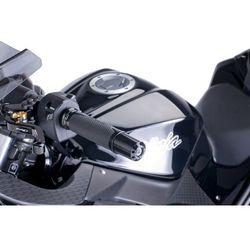 Końcówki kierownicy do Kawasaki (długie, czarne), towar z kategorii: Pozostałe części motocyklowe