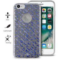 glitter shine leopard cover - etui iphone 7 / iphone 6s / iphone 6 (iridescent) limited edition marki Puro