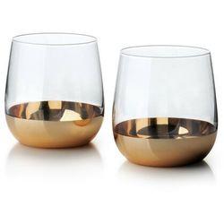 Mirella gold kpl.2 szklanek 475ml marki Sofa.pl