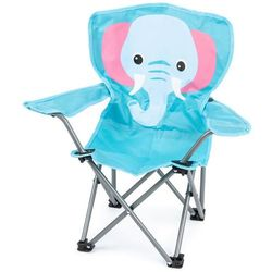 Dziecięce krzesełko składane Hatu, słoń, 57 x 60 x 32 cm