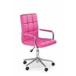 Fotel młodzieżowy obrotowy HALMAR GONZO 2 różowy