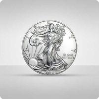 The united states mint Amerykański orzeł 1 uncja srebra - 15 dni roboczych