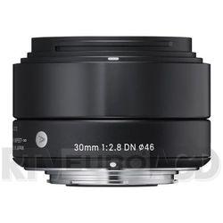 30 mm f/2,8 dn a (czarny) sony e - produkt w magazynie - szybka wysyłka!, marki Sigma