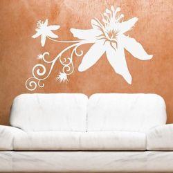 Kwiaty 1194 szablon malarski marki Deco-strefa – dekoracje w dobrym stylu