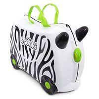 Jeżdżąca walizeczka TRUNKI Zebra Zimba