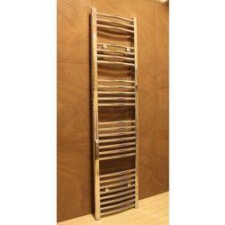 Grzejnik łazienkowy york - wykończenie zaokrąglone, 400x1600, owany marki Thomson heating