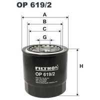 Filtr oleju OP 619/2 z kategorii Filtry oleju