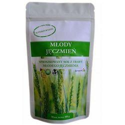 Trawa z młodego jęczmienia (młody jęczmień) sproszkowany sok 200g wyprodukowany przez Kenay ag
