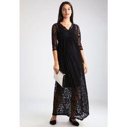 MAMALICIOUS MLBAROK Długa sukienka black, towar z kategorii: Sukienki ciążowe