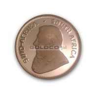 1 uncja Złoty Krugerrand - PROOF - Rocznik 1988 - Kolekcjonerski Lustrzany Nakład 4268 szt.