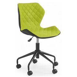 Młodzieżowy fotel obrotowy Kartex - zielony