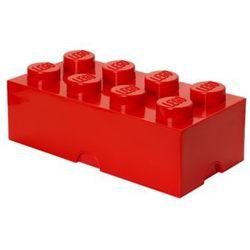 pojemnik na klocki 8 4004, czerwony marki Lego