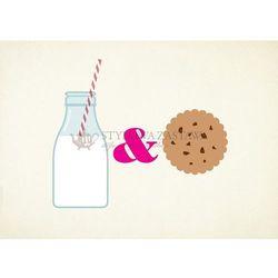 Joseph joseph Podkładka szklana, milk & cookies 40 x 30