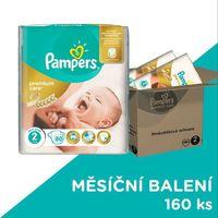 premium care 2 mini 160 szt. (3-6kg), zapas na miesiąc – pieluszki jednorazowe wyprodukowany przez Pampers