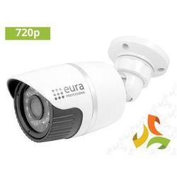 "Kamera IP Bullet CBA-03C5 1.0Mpx 720P 1.4"" CMOS EURA PROFESSIONAL (lampa zewnętrzna ogrodowa)"