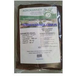 Agrowółknina ściółkujaca PP 50 g/m2 brązowa 1,6 x 10 mb. BEZ UV. - produkt z kategorii- Folie i agrowł�
