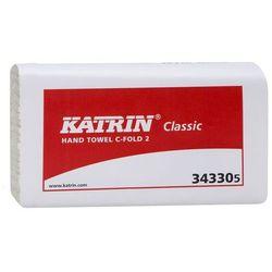 Katrin ręcznik classic c-fold 2, składany, biały 2-warstwy, 240 mm x 330 mm