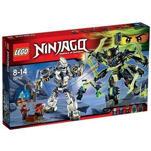 Lego NINJAGO Starcie tytanów 70737