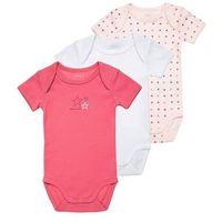 Name it NITBODY 3 PACK Body pink dogwood, towar z kategorii: Body niemowlęce