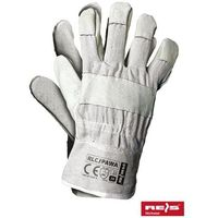 Rękawice robocze wzmacniane skórą licową RLCJPAWA rozmiar 10