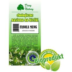 Ekologiczne nasiona na kiełki - Fasola Mung 50g Dary Natury (5902768527148)