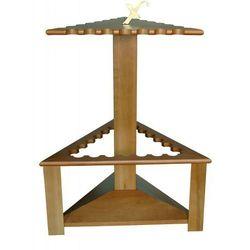 Drewniany trójkątny stojak na 21 wędek Exori ()