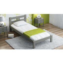 Łóżko nikola 90x200 szare marki Meble magnat