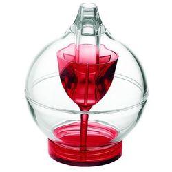 Guzzini - cukiernica z dozownikiem - Feeling - czerwona - czerwony