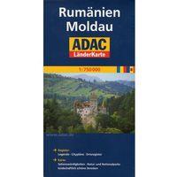 ADAC Mapa drogowa Rumunia, Mołdawia - skala 1:750 000, pozycja z kategorii Mapy i atlasy