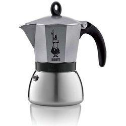 Bialetti kawiarka moka induction 6 tz antracyt