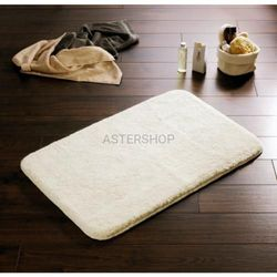 ISTANBUL Dywanik łazienkowy 60x90 cm akryl mikrofibra, biały 790301