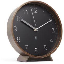 Zegar ścienny | stojący rimwood walnut 25 cm marki Umbra