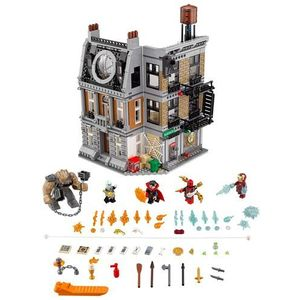 76108 STARCIE W SANCTUM SANCTORUM (Sanctum Sanctorum Showdown) - KLOCKI LEGO SUPER HEROES