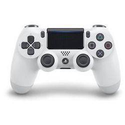Gamepad  dual shock 4 dla ps4 v2 - mroźna biel (ps719894650) od producenta Sony