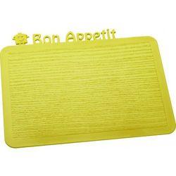 deska śniadaniowa happy boards bon appetit limonkowa - k3263582 od producenta Koziol